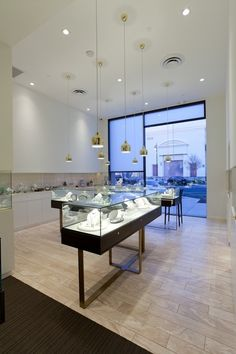 Jewelry store lighting