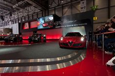 Première Alfa Romeo 4C - Geneva Motor Show 2013 by Alfa Romeo - The official Flickr, via Flickr #AlfaRomeo4C