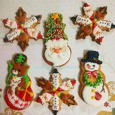 「 「クリスマスクッキー☆」 」の画像|アイシングクッキーワークショップ ~Cookie mark~横浜市 準備中。。|Ameba (アメーバ)