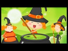 Halloween French children kids song - Le Monde des Petits - Trick or treat, vampires, ghosts and witches. Let's celebrate Halloween! Boo Halloween, Theme Halloween, Bricolage Halloween, Healthy Halloween, Holidays Halloween, Halloween Crafts, French Kids, French Class, Youtube Halloween