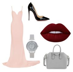"""Lips"" by toriwright70 on Polyvore featuring STELLA McCARTNEY, Topshop, Givenchy, Lime Crime and Christian Louboutin"