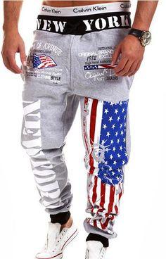 Men's Jeans military pants joggers