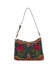 Love this one!!    Women's Roses Are Red Zip-top Shoulder Bag  $139.95