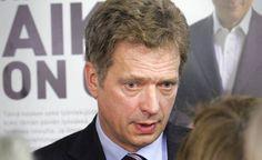 Kokoomus keräsi Sauli Niinistön vuoden 2006 presidentinvaalikampanjaan valtavia summia rahaa. Kuvassa Sauli Niinistö on Cafe Niinistössä vuonna 2006.