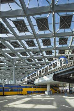 Den Haag Centraal Station by Benthem Crouwel architects, Amsterdam NL 2014