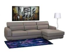 Mink Brown Chicago 2PC RF Chaise Sectional with Click-Clack Headrests and Metal Leg by Diamond Sofa  #modern #home #furniture #seating