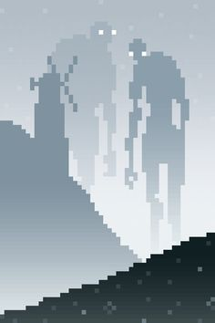 Pixel Art Landscapes on Behance