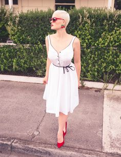 Outfit from Vintage Garage & styled by Amie Turnbull.