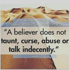 A believer...
