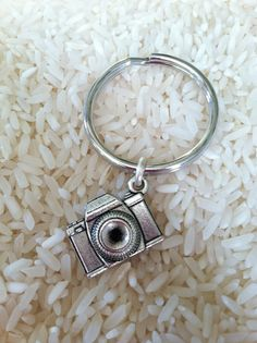 Camera Keychain Keychains Camera Charm by HazelJewelryDesigns, $6.00