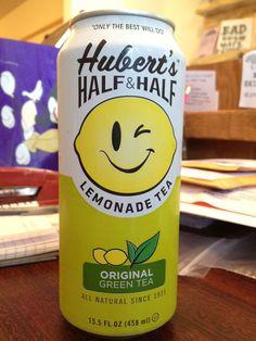 Hubert's Half & Half Lemonade Green Tea  ;)    #hubertslemonade  #huberts