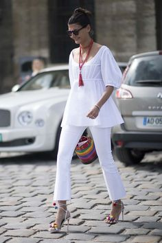The best street style from Paris Haute Couture Week Cool Street Fashion, Look Fashion, Unique Fashion, Womens Fashion, Mode Outfits, Casual Outfits, Summer Outfits, Giovanna Battaglia, Look Street Style