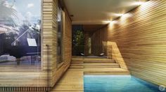 The Narrabeen House by Guillaume Favre, via Behance