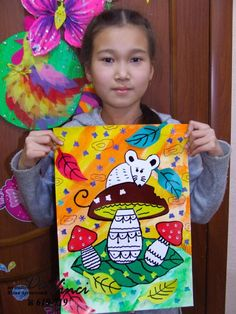 Одноклассники Hand Crafts For Kids, Art For Kids, Art Drawings For Kids, Drawing For Kids, September Art, Newborn Toys, Art Lessons Elementary, Autumn Art, Pottery Painting