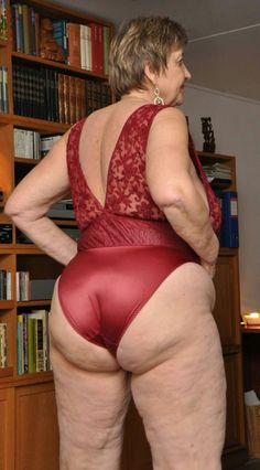 Butt naked grannies