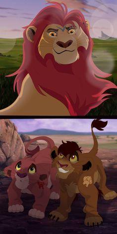 Lion Guards Past and Future von Percy-McMurphy auf DeviantArt - TLK - Dessin Kiara Lion King, Lion King 1, Lion King Fan Art, Simba And Nala, Lion King Movie, Lion Art, Disney Lion King, Lion King Series, Lion King Story