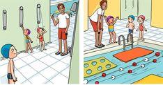 Nina continue ses aventures mensuelles...     Elle va à la piscine,        elle est invitée à un anniversaire,          elle va à la pla... Sequencing Activities, Raising Kids, Montessori, Kindergarten, Kids Rugs, Education, School, Character, Speech Therapy Games