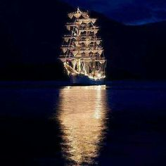 A wedding reception on a giant boat, or a yacht Tall Ships, Bateau Pirate, Pirate Life, Pirate Fairy, Sail Away, Belle Photo, Sailing Ships, Sailing Boat, Yachts