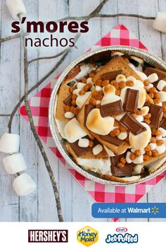 This summer, you can forgo the chips and hot sauce for melted marshmallow and graham crackers. Surprise and delight friends and family on a picnic or summer party with the ultimate dessert: S'mores nachos! Get step-by-step instructions on how to make this special treat.