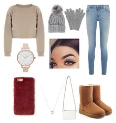 """teen comfy day"" by paigey16 on Polyvore featuring My Mum Made It, Givenchy, L.K.Bennett, Eugenia Kim, UGG, Miss Selfridge, Links of London, Missguided and Olivia Burton"