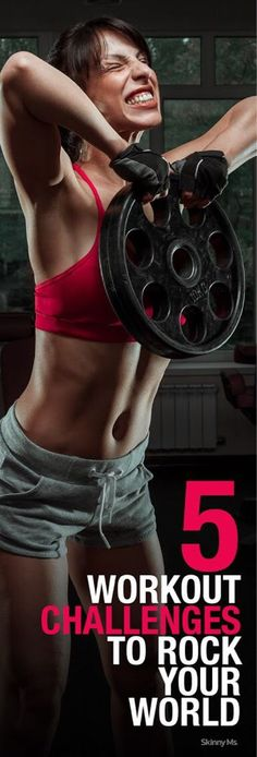 Looking for the ultimate challenge? Push yourself to the next level with these 5 workouts. #fitness