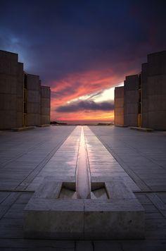 Engagement Session Bucket List:  SalkInstitute by Louis Kahn