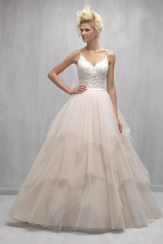 Wedding gown by Madison James
