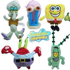 7.95AUD - 1Pc Spongebob Squarepant Kid Child Baby Soft Bear Plush Doll Stuffed Animals Toy #ebay #Fashion Spongebob Squarepants Toys, Spongebob Logic, Plush Dolls, Doll Toys, Pet Toys, Hot Toys Iron Man, Cute Cartoon Drawings, Baby Kids, Child Baby