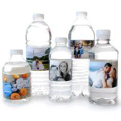 Wedding Supplies 100 Baby Blocks Baby Shower Birthday Water bottle labels self stick