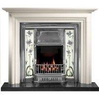 Modena Sovereign Limestone Fireplace