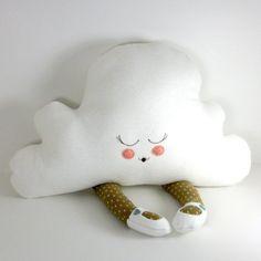 cloud, cute, doll, nursery