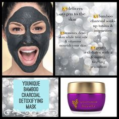 Younique bamboo charcoal mask! 14 days to return for a full refund, guaranteed http://www.youniqueproducts.com/EmyChamberlain