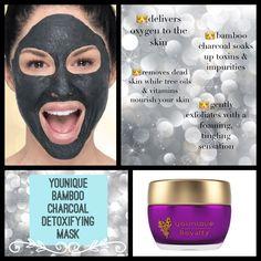 Younique bamboo charcoal mask! www.Youniqueproducts.com/BridgetZalewski
