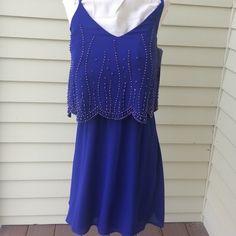 NEW WITH TAGS Cobalt Blue Dress  EXTRA PHOTOS Blue dress Xscape Dresses Mini