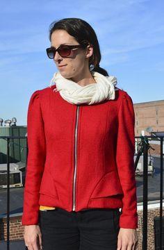 cordova sewaholic - Lined Sewing Patterns, Bomber Jacket, Athletic, Zip, Jackets, Couture, Image, Fashion, Stitching Patterns
