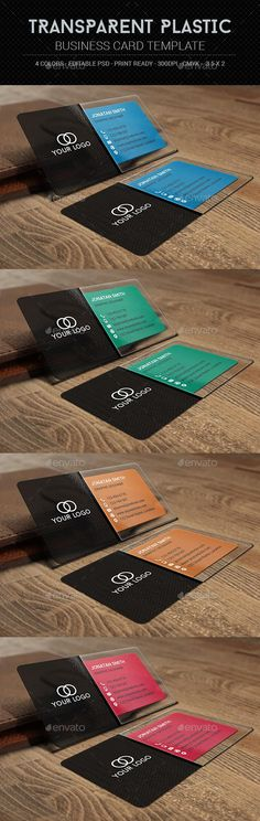 Free transparent business card download mock up pinterest card transparent plastic business card template fbccfo Image collections