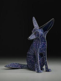"""Saatchi Art Artist: Anne  Lemanski; Mixed Media  Sculpture """"FENNEC FOX (DOG STAR)"""" Like this."""