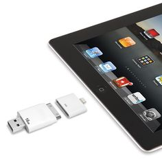 The Only Read And Write iPad Flash Drive. (16 GB) - Hammacher Schlemmer