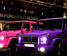 Pink and purple benz jeep girly pink girls purple mercedes [barbie? Mercedes Benz Maybach, Mercedes Benz Clase G, Autos Mercedes, Mercedes Benz Interior, Mercedes G Wagon, Mercedes Jeep, Maserati, Bugatti, Mercedes Benz Convertible