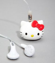Aww, super cute Mp3 Player....2GB of music & adorable too!