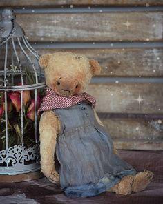 Fleur : OOAK Vintage Style Sweet Artist Teddy Bear by Natali