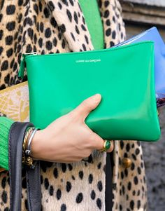 Kelly Green & Leopard - NICE!