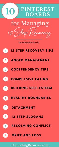 Recovery from codependency tips