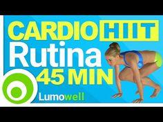 Cardio Intenso para Adelgazar Rápido - 45 Minutos HIIT - YouTube