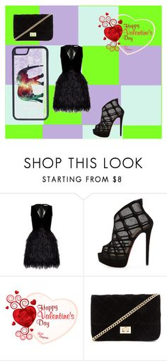 """""""A outfit"""" by grandpasgirl55 on Polyvore featuring beauty, Alice + Olivia, Christian Louboutin, Forever 21 and CellPowerCases"""