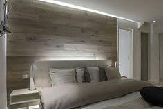 Laminate flooring on the wall
