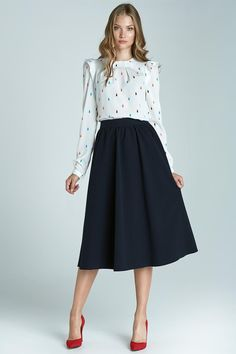 Navy Blue Nife Skirts