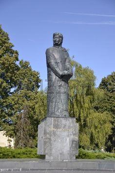 Monument to Adam Mickiewicz in Poznan