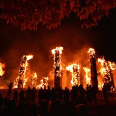 Taimatsu Fire Festival in Sukagawa, Fukushima