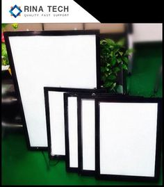 LED Magnetic Light Box Suppliers and Factory - Customized Products Price - Rina Technology Reception Desk Design, Led Light Box, Box Supplier, Silver Paint, Design Show, Aluminium Alloy, Save Energy, Basement, Wood